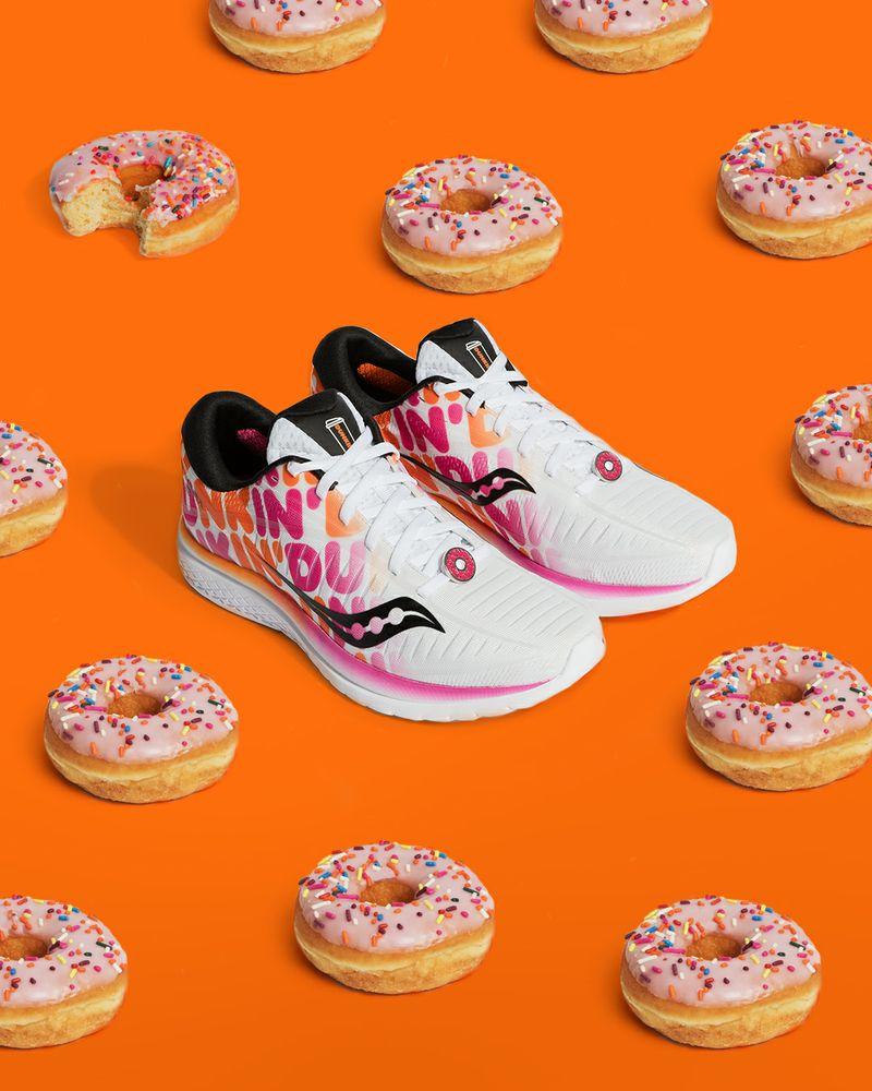 Saucony® and Dunkin' Celebrate Boston 2019 with Second Collaboration Running Shoe
