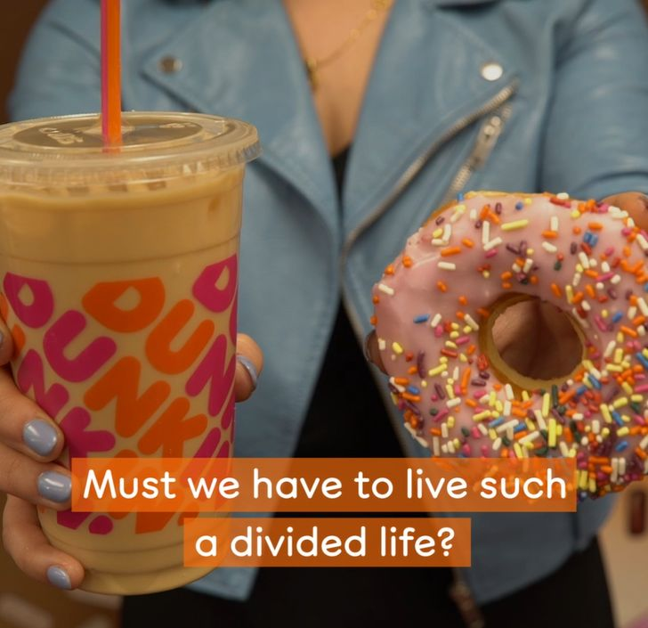 Donut Miss Out on Dunkin's New Super Dough Coffee Cup Holder