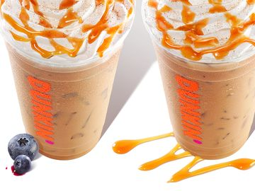 Introducing Signature Lattes at Dunkin'!