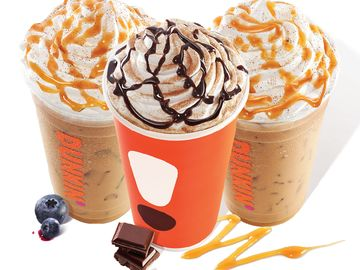 Dunkin' Dresses Up Its Espresso Experience with Three New Signature Lattes
