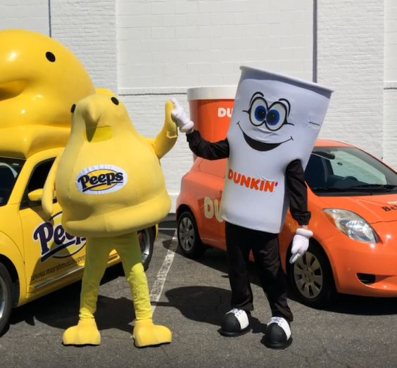 Are They Here Yet? Dunkin' and PEEPS® Hit the Road