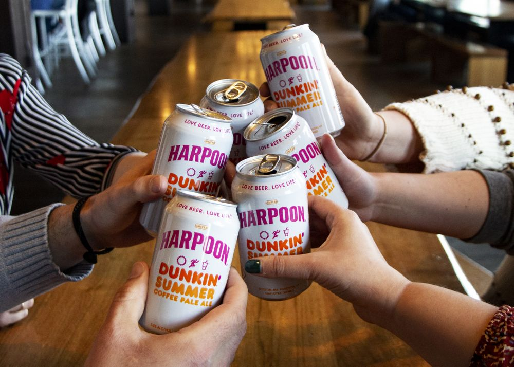How to Get the New Harpoon Dunkin' Summer Coffee Pale Ale