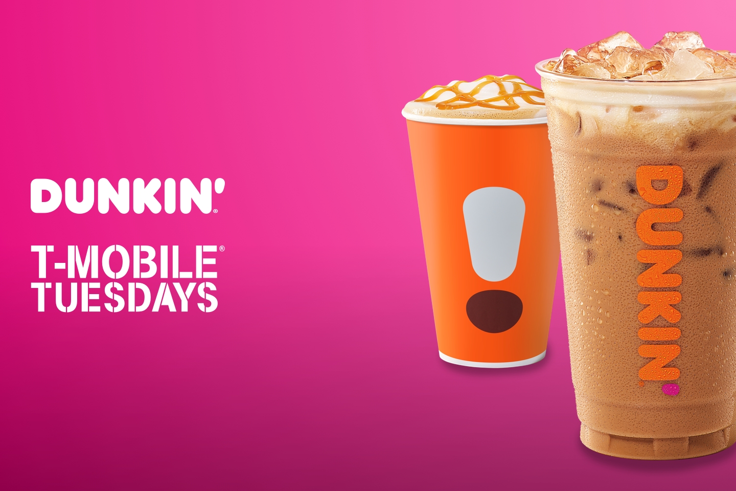 Tackle Tuesdays with a Free Latte from Dunkin' and T-Mobile