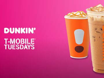 Dunkin T-Mobile Tuesdays
