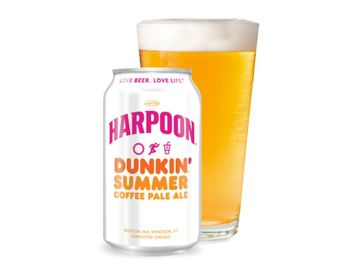 Celebrating National Beer Day with Harpoon Dunkin' Summer Coffee Pale Ale