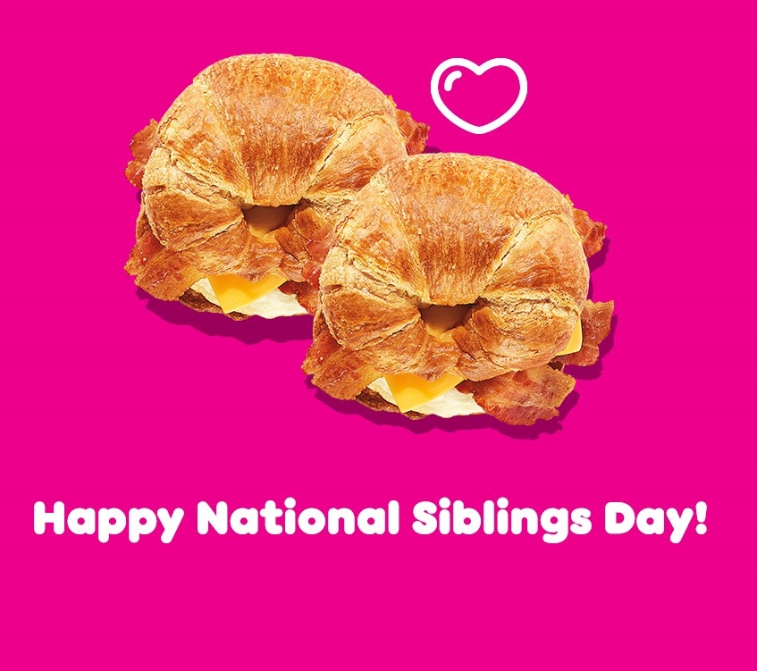 Celebrate National Siblings Day with Dunkin' Go2s