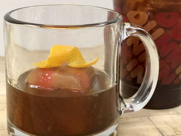 Cheers to National Cold Brew Day with a Chocolate Cherry Cold Brew Old Fashioned
