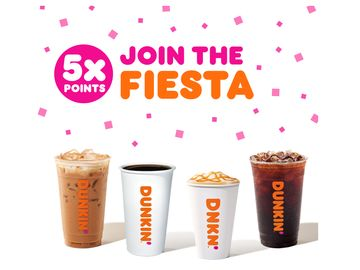 Celebrate Cinco de Mayo with a Special Offer and Recipe from Dunkin'