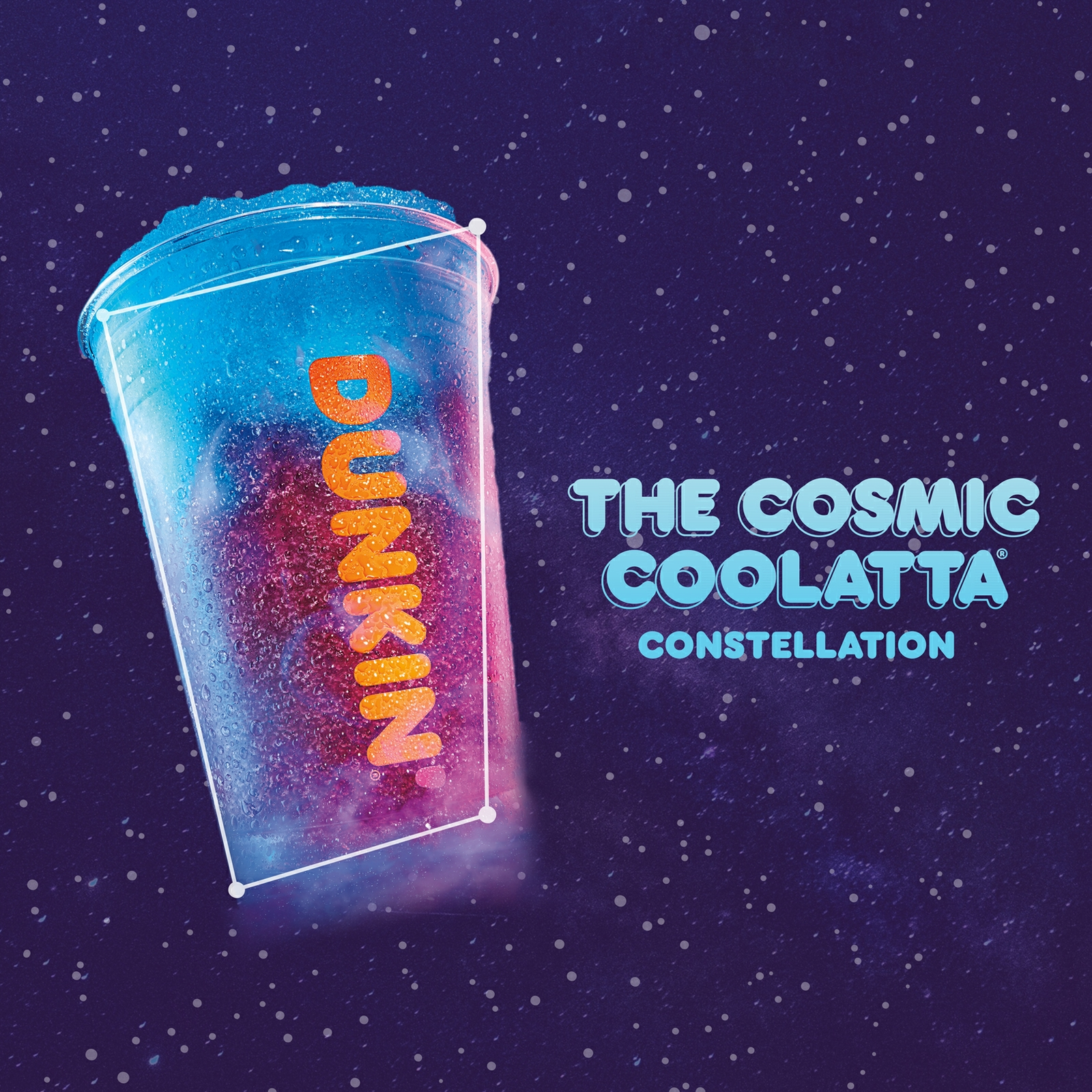 Dunkin' Celebrates National Space Day, Discovers Cosmic COOLATTA® Constellation