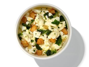 Dunkin Spinach Egg White Bowl