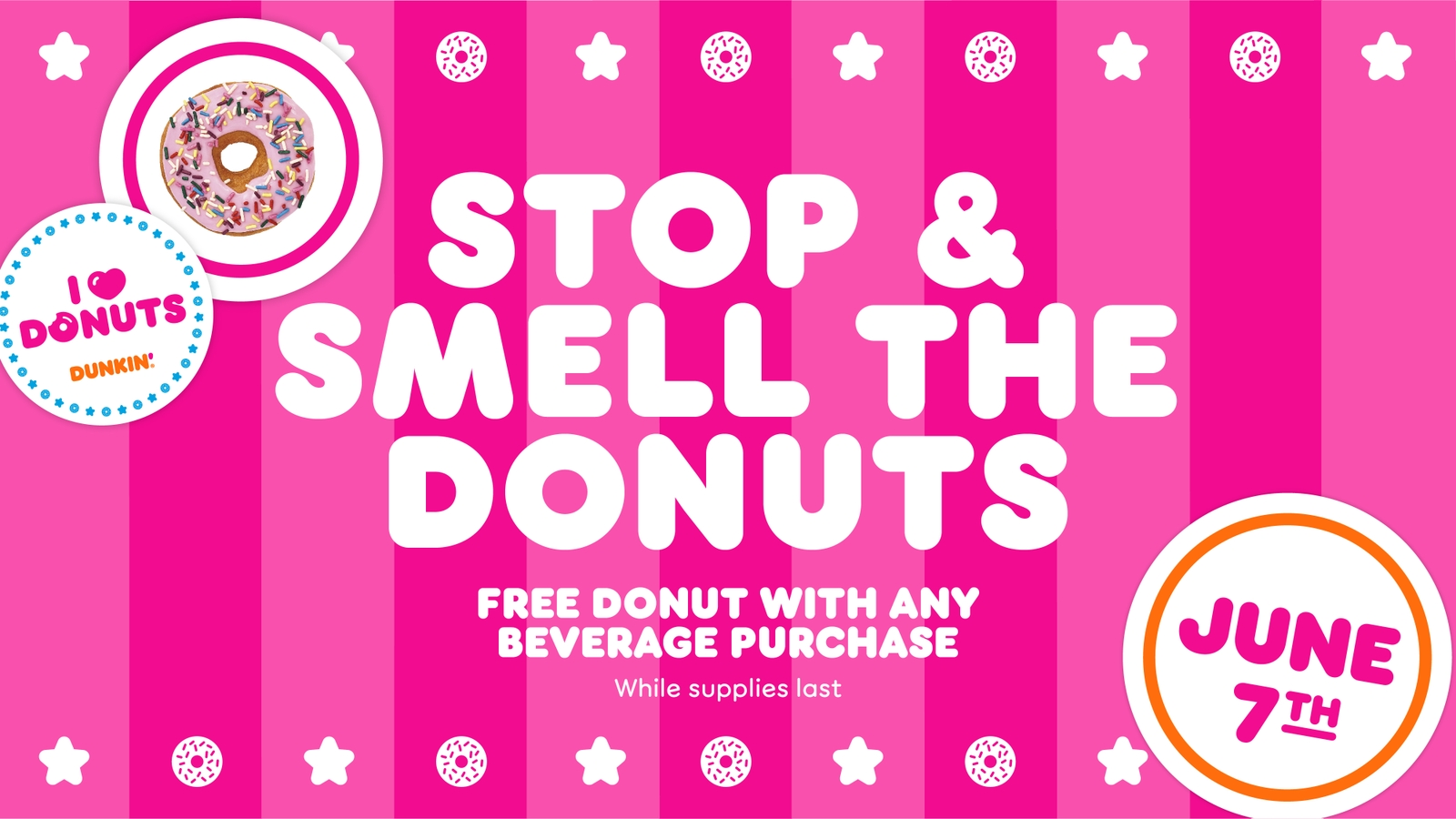 Stop and Smell the Donuts