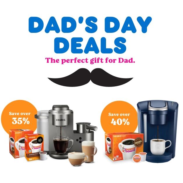Dad's Day Deals: Exclusive Keurig® x Dunkin' Bundles