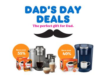 Dad's Day Deals: Exclusive Keurig® x Dunkin' Bundles