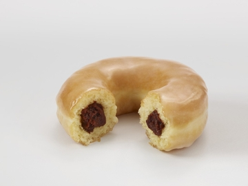 Red Bean Filled Ring Donut_South Korea