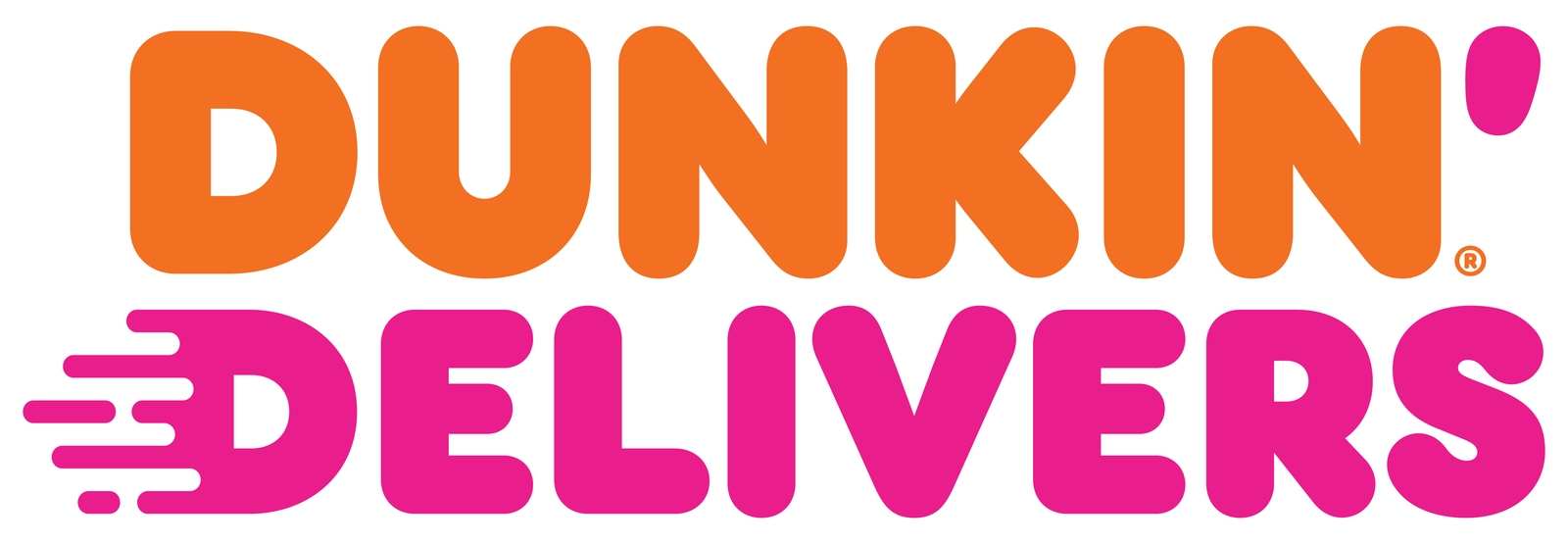 Dunkin' Delivers