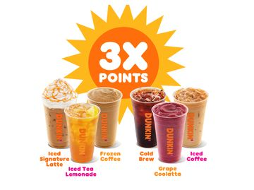 Hello Summer! Celebrate with 3X the DD Perks® Points