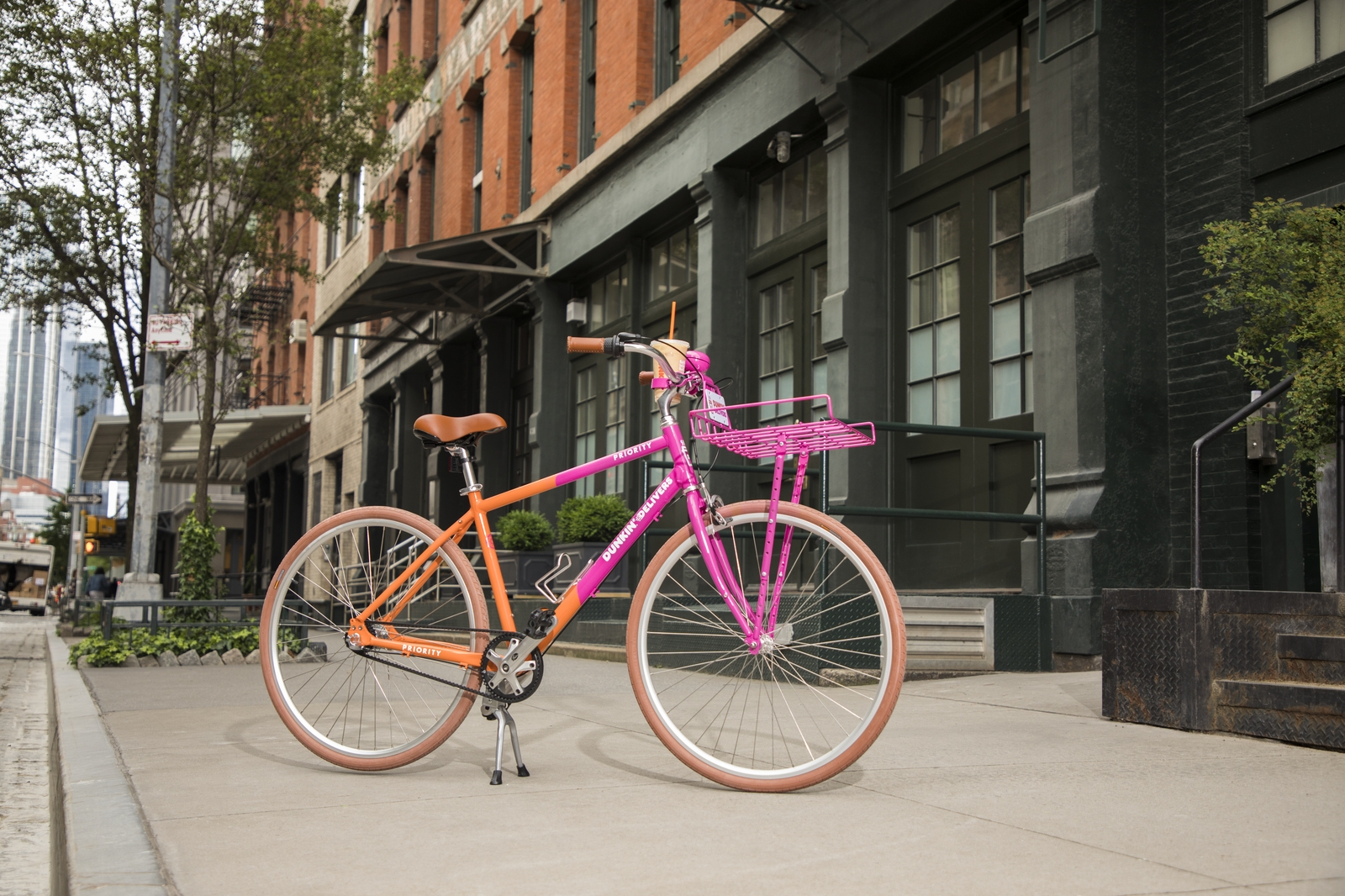 The Story Behind Our Exclusive, Tricked Out Dunkin' Bicycle