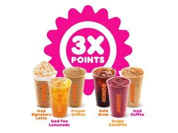 3X Points for DD Perks® Members is Back!