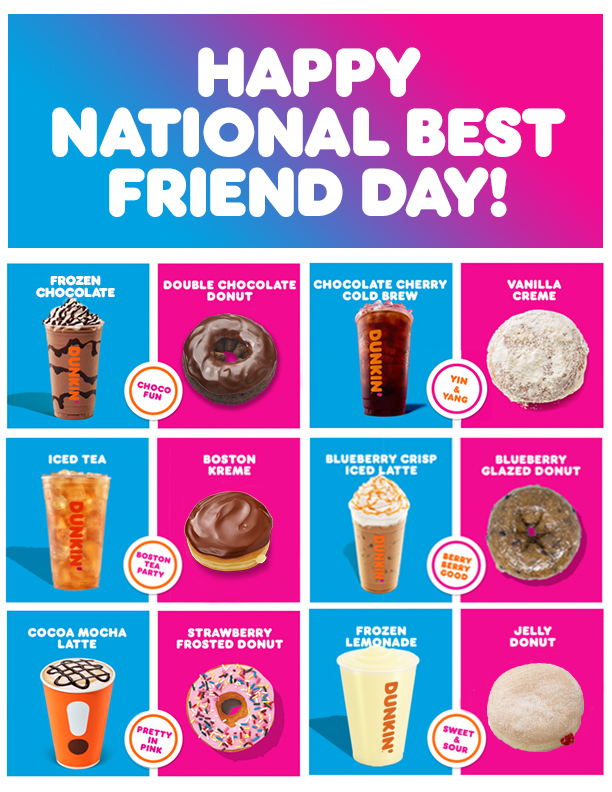 Coffee _ Donut Pairings BFF Day