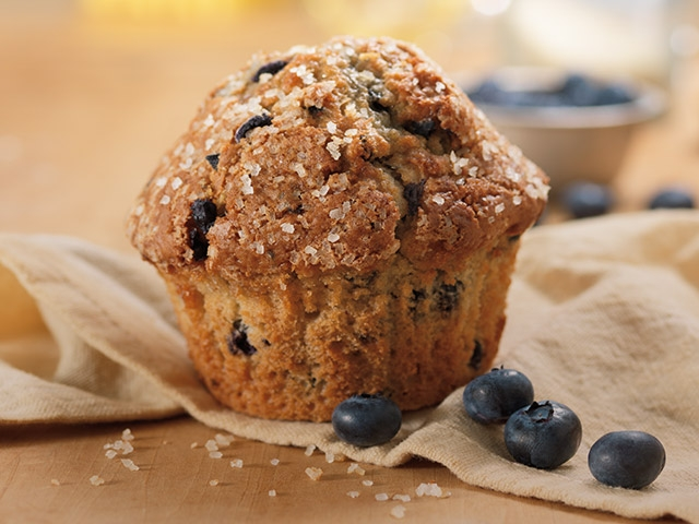 The Story Behind Dunkin's Blueberry Muffin