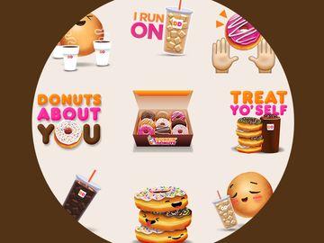 Dunkin Emojis