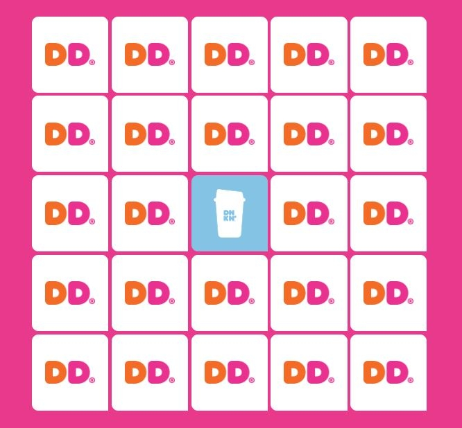 Dunkin' Bingo!