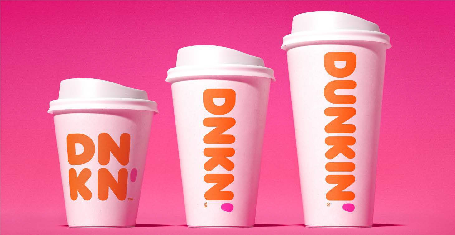 Dunkin's New Double-Walled Paper Cup Hits New England