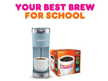 Smart Savings: Dunkin' x Keurig® Back-to-School Bundle