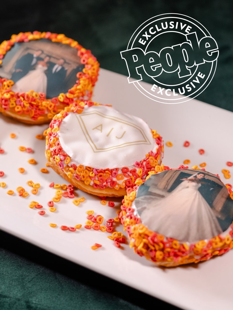 Dunkin' Celebrates Celebrity Couple Ashley I. and Jared Haibon's Wedding