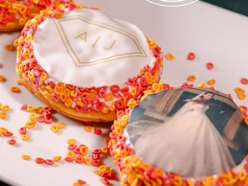 Dunkin' Celebrates Celebrity Couple Ashley I. and Jared Haibon's Wedding
