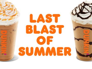 Celebrate the Last Blast of Summer With a Special Offer for DD Perks® Members