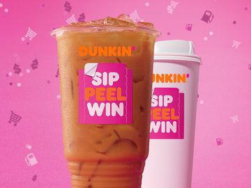 "The Winner's Cup: Dunkin's ""Sip. Peel. Win."" Promotion Returns with Chance to Win $20 Million Worth of Prizes"