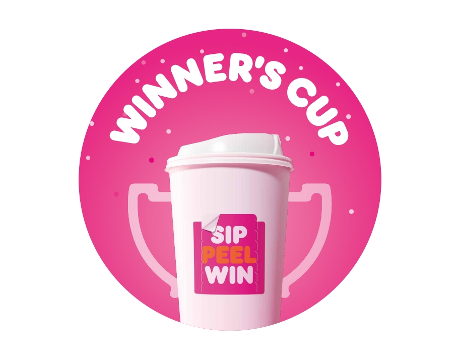 """Winning Never Tasted So Good: """"Sip. Peel. Win."""" is Back at Dunkin'"""