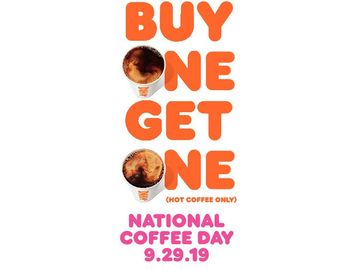National Coffee Day BOGO