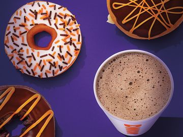 October at Dunkin' Brings Dressed Up Donuts and the Brand's First-ever Halloween Costume