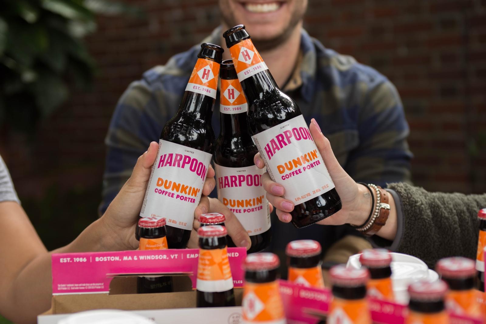 The Story Behind Harpoon Dunkin' Coffee Porter
