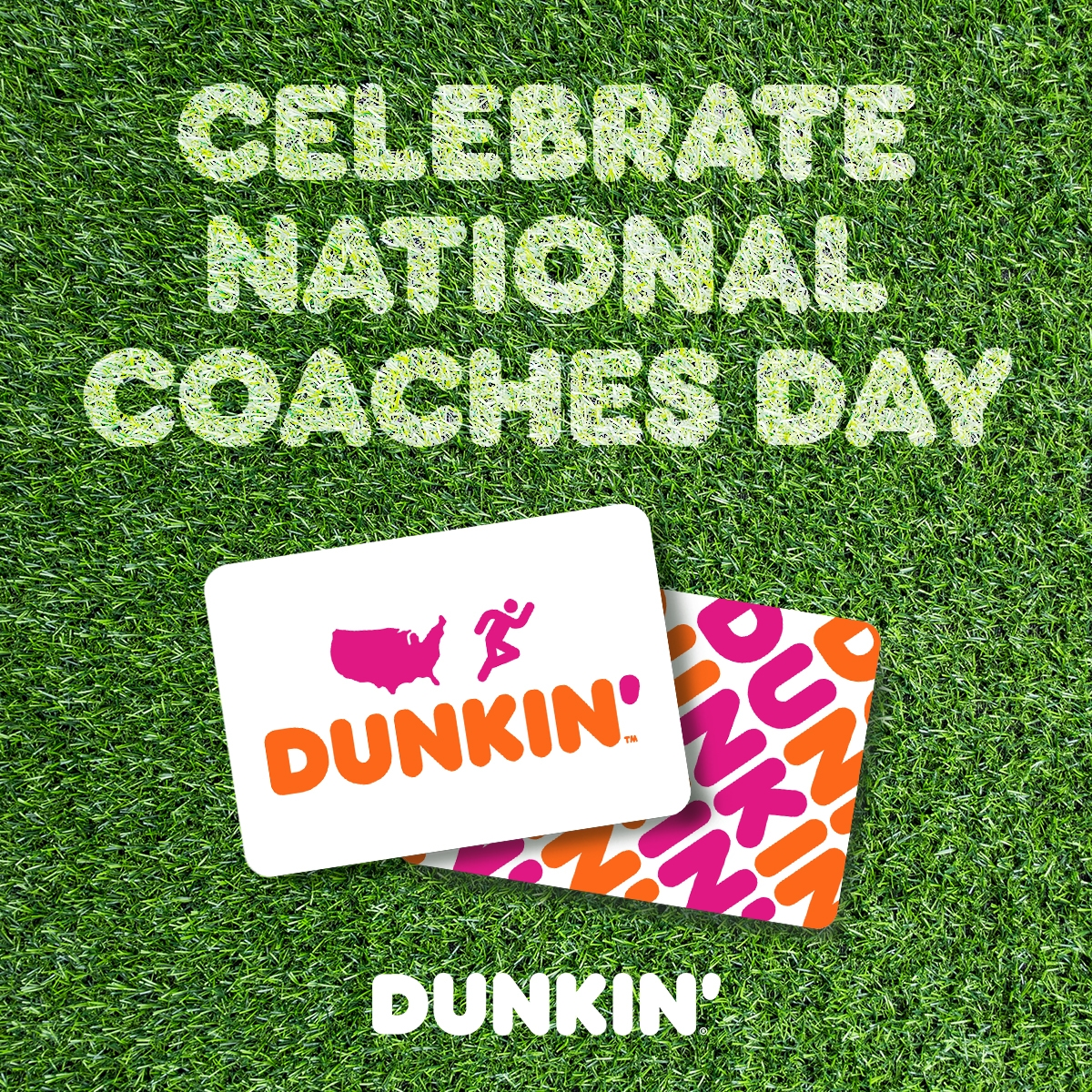 "How to Say ""Thanks a Latte"" With Dunkin' on National Coaches Day"