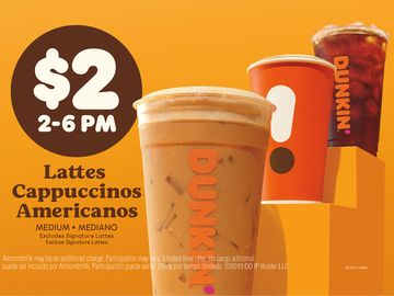 Happy Hour Dunkin