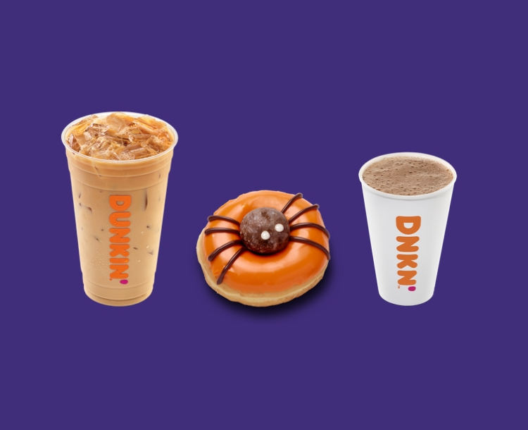 No Frights, Just Delights! Pick Your Halloween Treat from Dunkin'