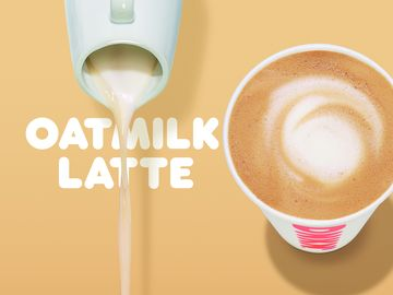 Dunkin' To Launch Oatmilk Latte in Restaurants Nationwide This Spring