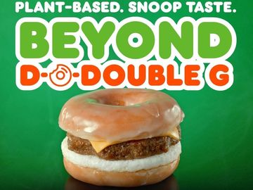 A Snoop Dogg Remix at Dunkin': The Beyond D-O-Double G Sandwich Drops at Dunkin' Shops This Week Only