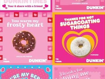 How to Get Free Dunkintines and Say it With Dunkin' this Valentine's Day