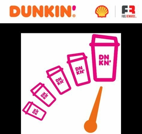 Sip Dunkin' Save at Shell