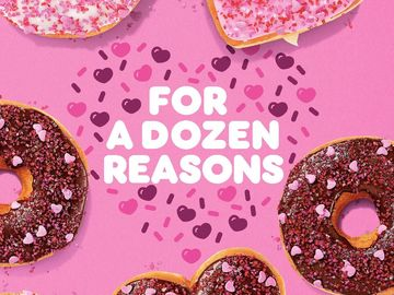 Say it with Dunkin' this Valentine's Day