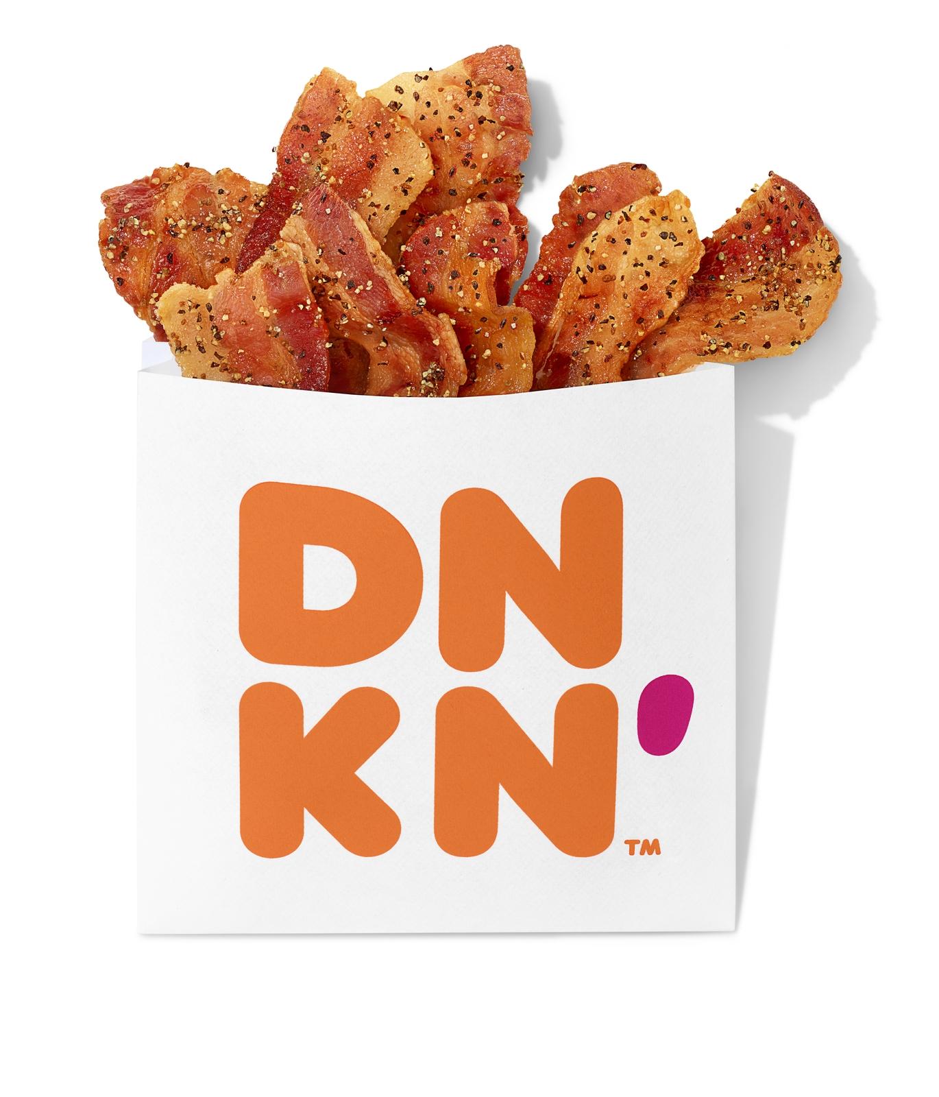 Sack the Sad Snacks with Dunkin's New Snackin' Bacon