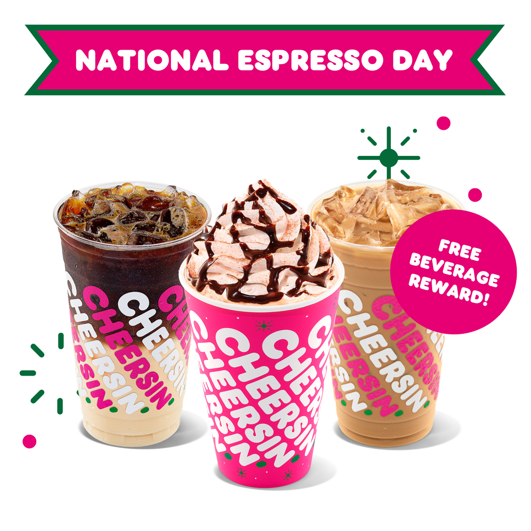 Celebrate National Espresso Day with Dunkin'