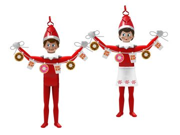 Dunkin' Elf on the Shelf Ornament