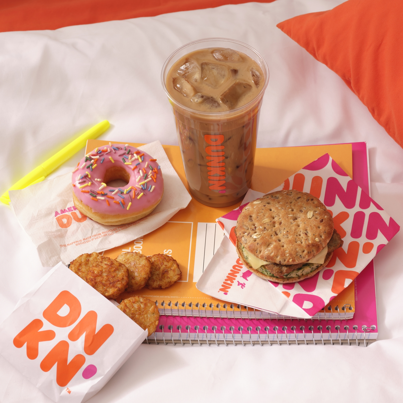 """Dunkin' Homecoming"" Keeps College Students Runnin' Through Finals Season at Home"