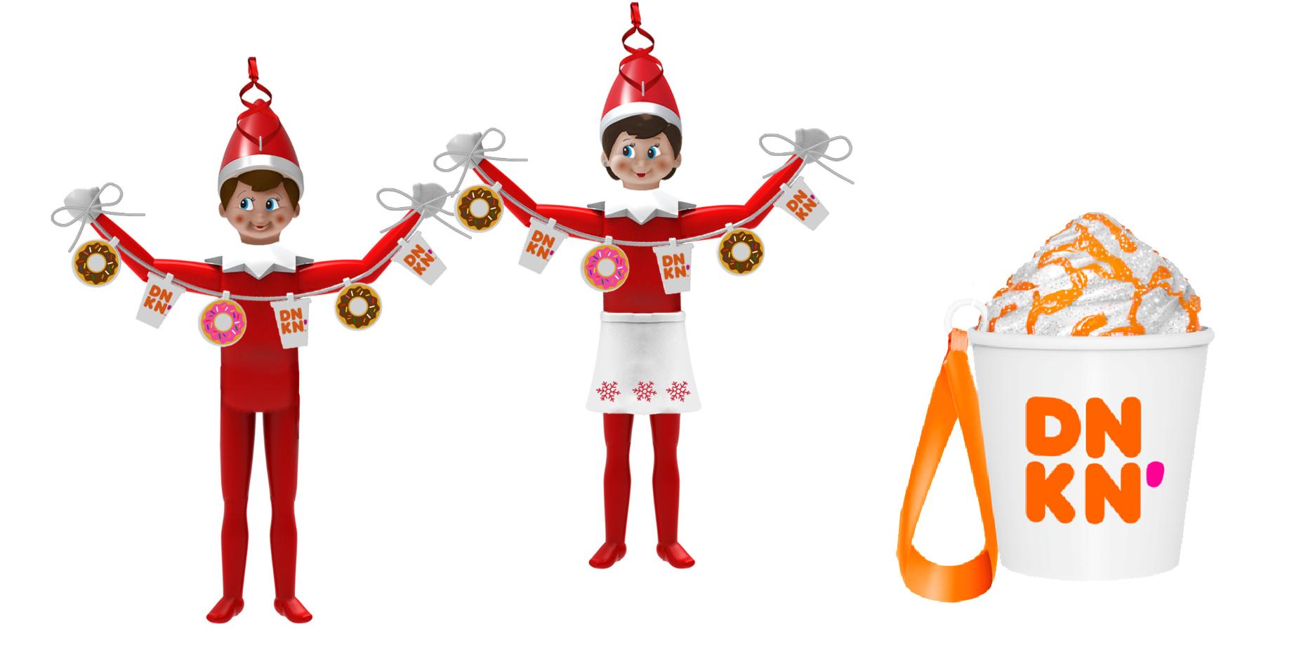 Dunkin' Ornaments