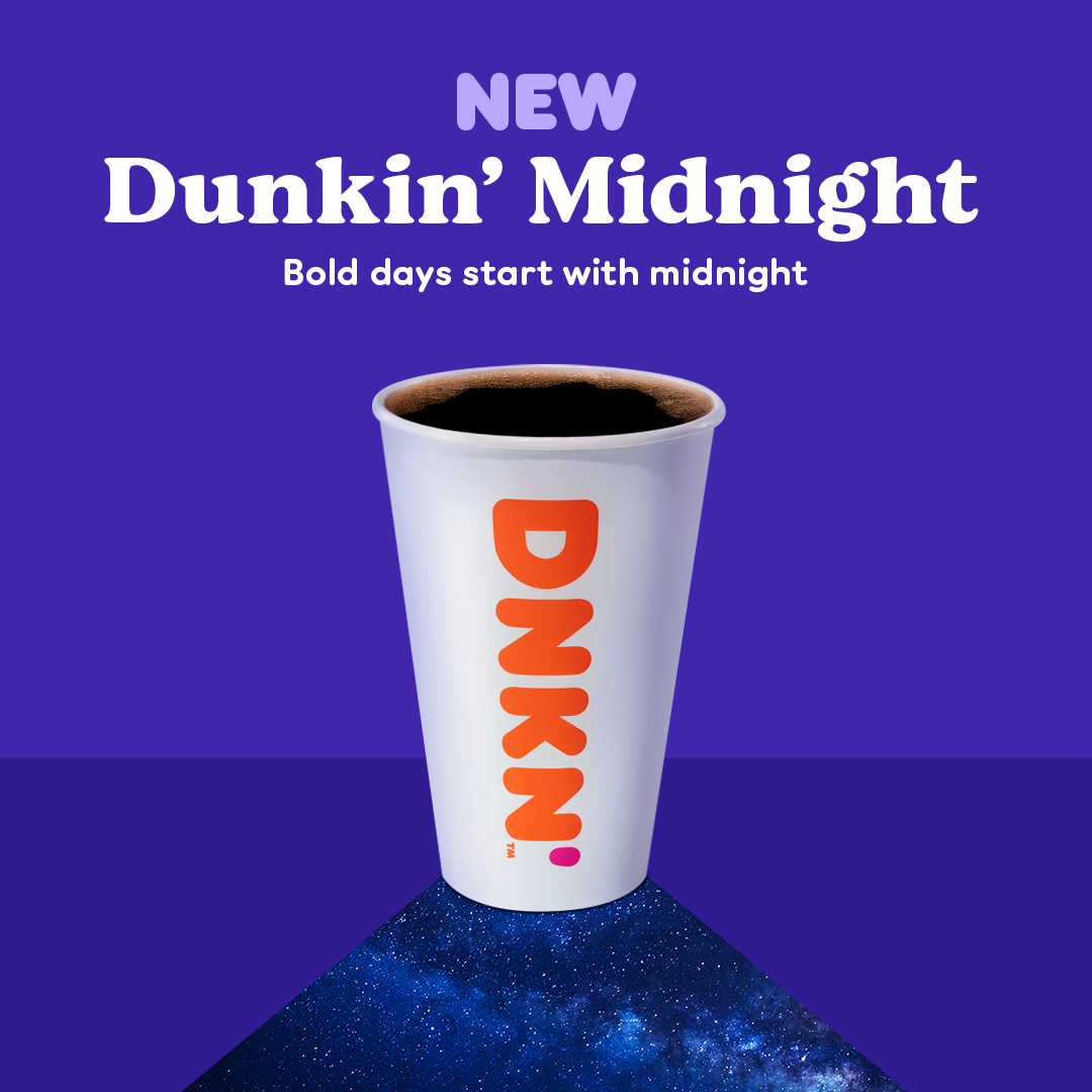 The Story Behind Dunkin' Midnight